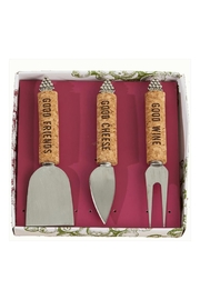 Lets Accessorize Cheese Knives Set - Product Mini Image