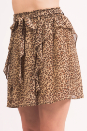 LoveRiche Cheeta MiniSkirt - Front full body