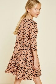 R+D emporium  Cheetah Blush Dress - Front full body