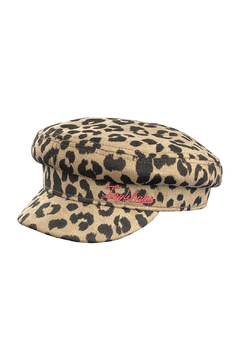 Tiny Whales Cheetah Captains Hat - Alternate List Image