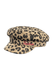 Tiny Whales Cheetah Captains Hat - Product Mini Image