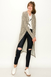 ENTI Cheetah Cat Cardi - Product Mini Image