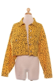Signature 8 Cheetah Cropped Jacket - Product Mini Image