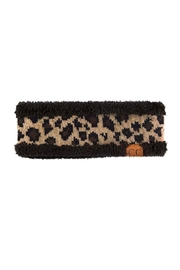 CC Beanie Cheetah Ear Warmers - Product Mini Image
