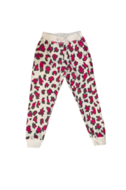 T2 Love Cheetah Girl Sweat Pants - Front cropped