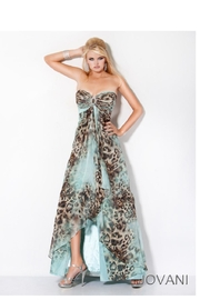 Jovani Cheetah Print Maxi - Product Mini Image
