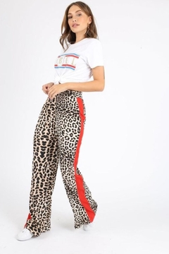 Influence Cheetah Print Pants - Alternate List Image