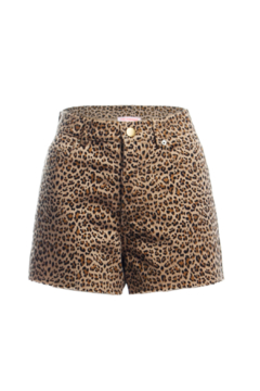 Renamed Clothing Cheetah Print Short - Alternate List Image