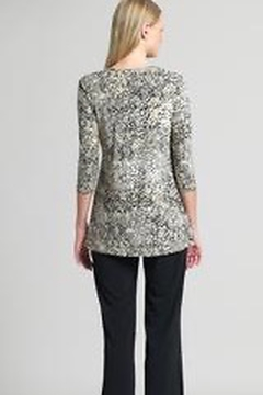 Clara Sunwoo Cheetah Print Side Tie Wrap Tunic - Alternate List Image