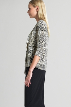 Clara Sunwoo Cheetah print tunic top - Alternate List Image