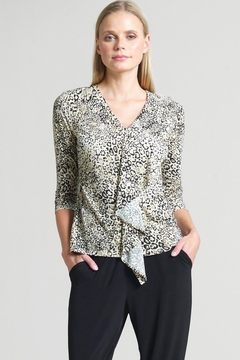 Clara Sunwoo Cheetah print tunic top - Product List Image