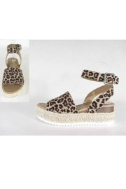 Shoe Addict  Cheetah Short Wedge - Product Mini Image