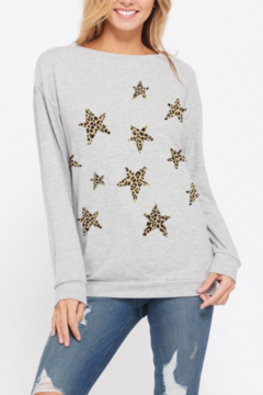 Phil Love Cheetah Star Sweatshirt - Product List Image
