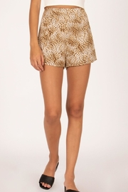 AMUSE SOCIETY Cheetah Woven Shorts - Product Mini Image