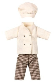 Maileg Chef Clothes for Mouse - Product Mini Image