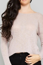 Love in  Chelle Pink Sweater - Front cropped
