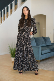 Adina LV Chelli Maxi Set in Floral - Front cropped