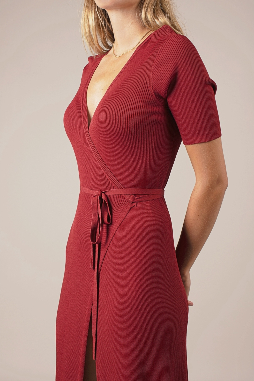 All Row Chelsea Dress - Front Full Image