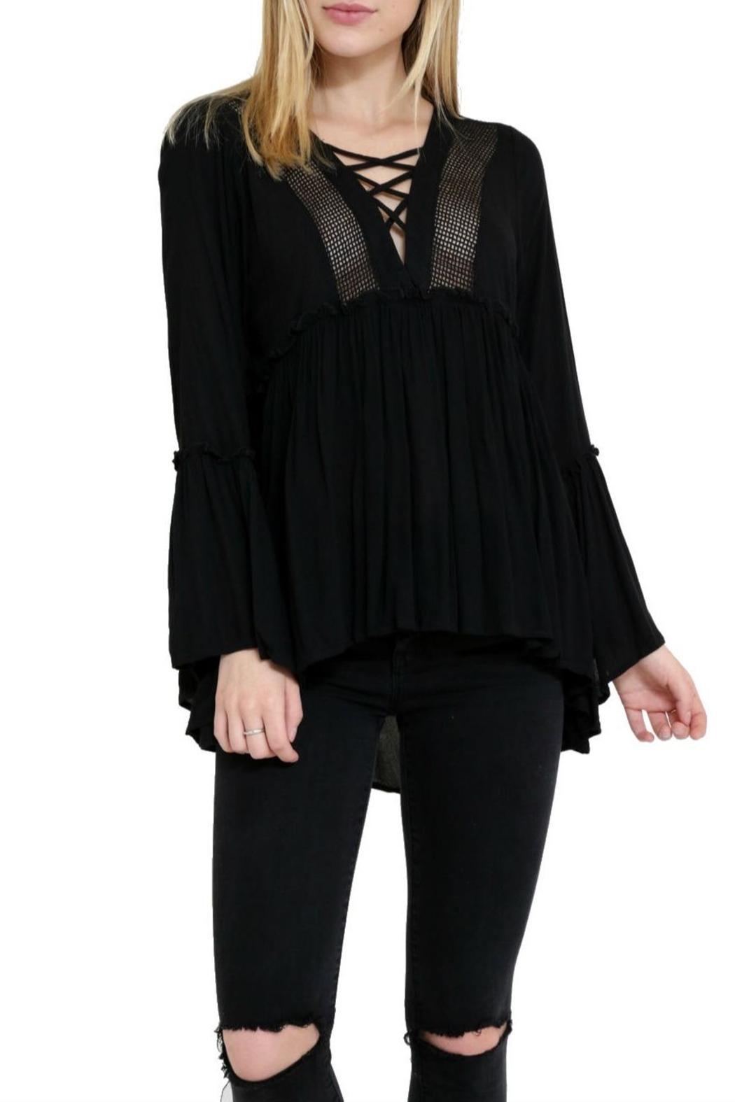 1 Funky Chelsea Flowy Top - Front Full Image