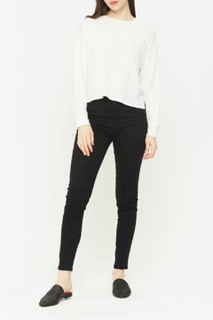 Shoptiques Product: Chelsea French Terry Crop Pullover