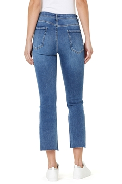 Numero Denim Chelsea Hi Rise Slim Flare Crop Jean - Alternate List Image