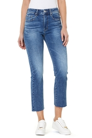 Numero Denim Chelsea Hi Rise Slim Flare Crop Jean - Product Mini Image
