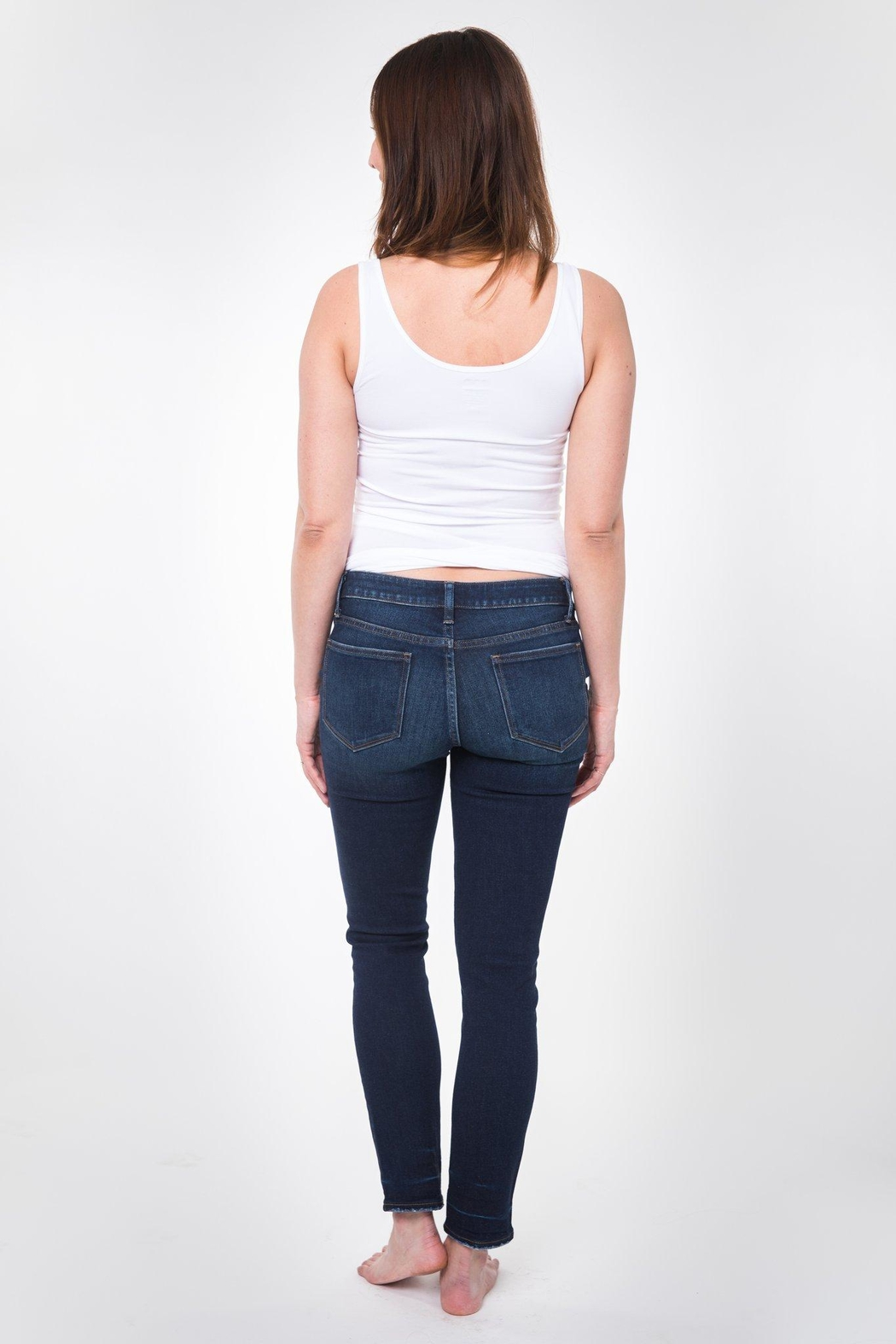 NOM Maternity Chelsea Skinny Denim - Back Cropped Image