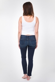 NOM Maternity Chelsea Skinny Denim - Back cropped