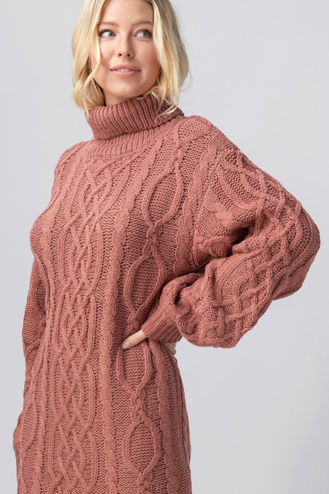 Trend Notes  Chelsea Sweater Dress - Front Full Image