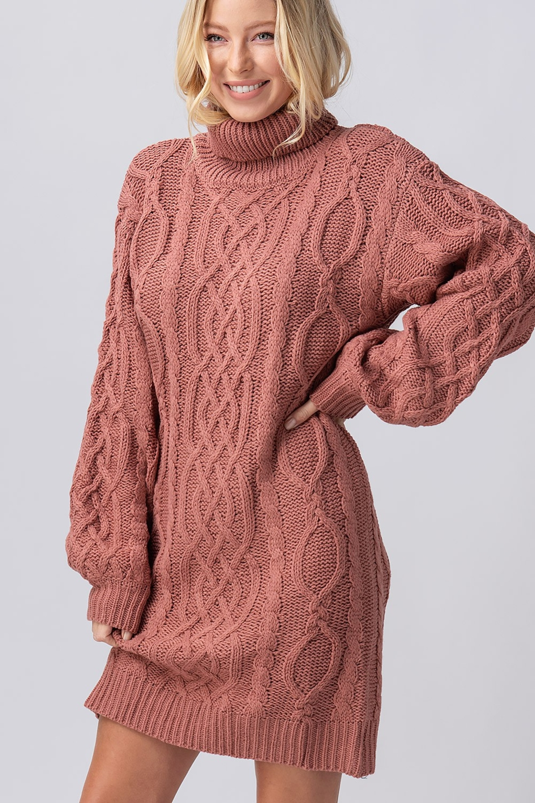 Trend Notes  Chelsea Sweater Dress - Side Cropped Image