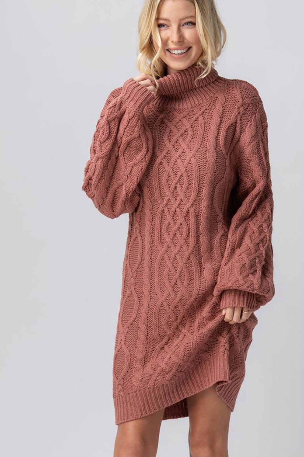 Trend Notes  Chelsea Sweater Dress - Main Image