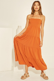 crescent Chelsea Tiered Dress - Front cropped
