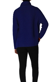 Chelsea & Theodore Turtleneck Dolman Sleeve Sweater - Front full body