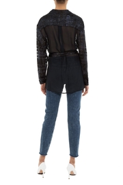 Chelsea and Walker  Ivy Burnout Wrapblouse - Front full body