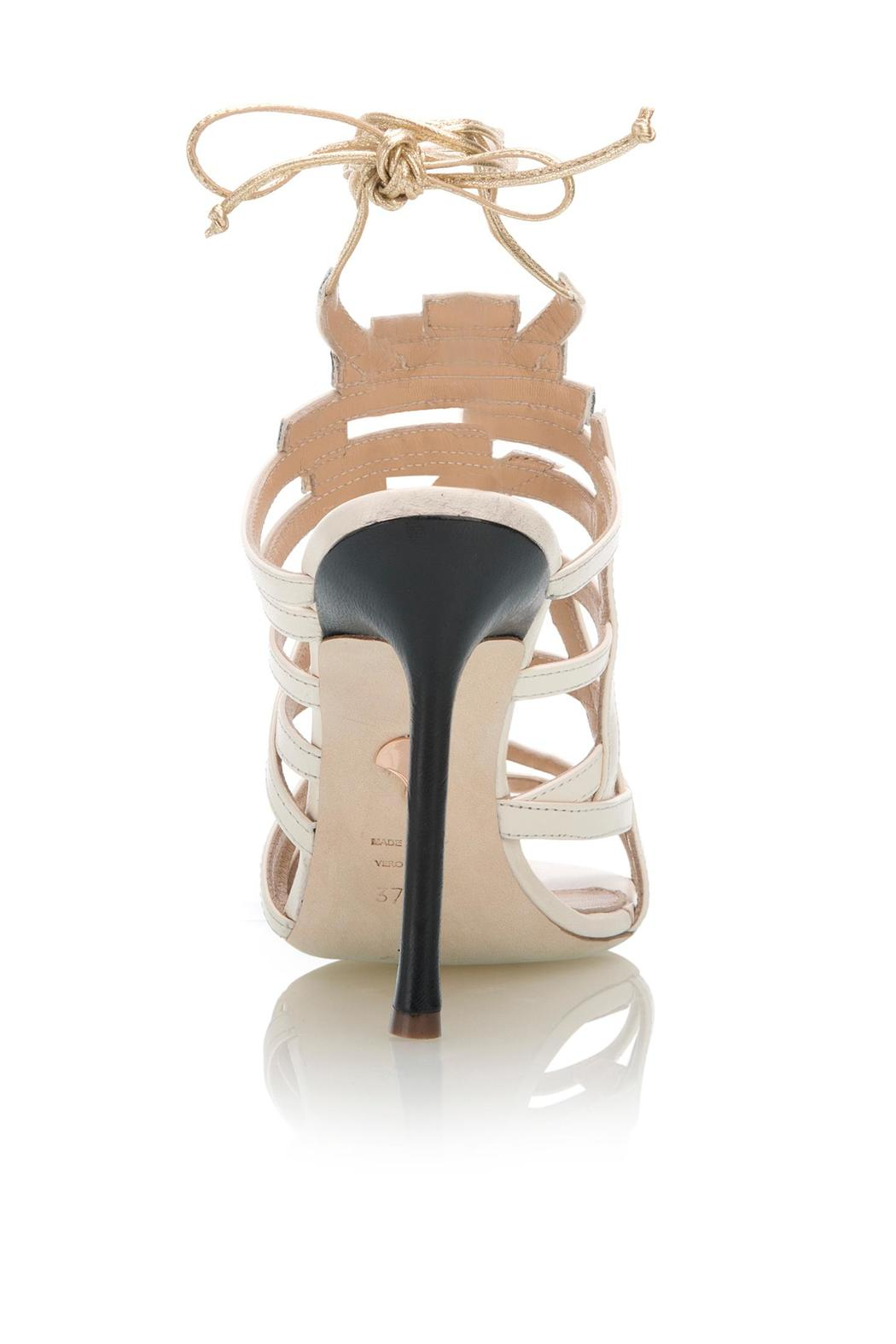 Chelsea Paris Knight Nude Heel - Side Cropped Image
