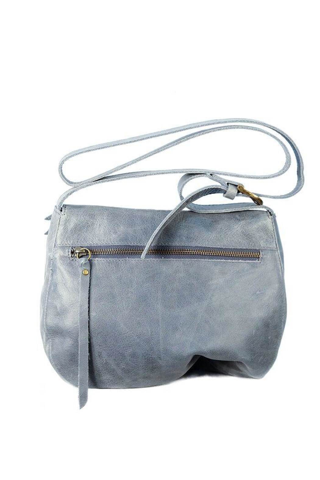 Chen & Derington Leather Cross Body Bag - Front Full Image