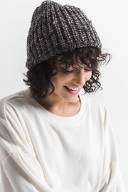 rag poets Chenille Beanie - Side cropped