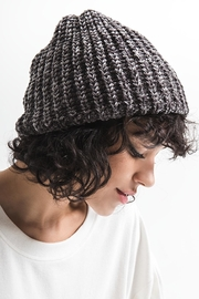 rag poets Chenille Beanie - Front cropped