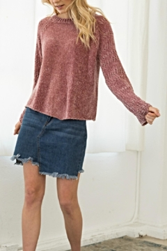 Shoptiques Product: Chenille Bell Sweater