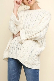 Umgee USA Chenille Boxy Sweater - Product Mini Image