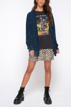 Motel Rocks Chenille Boyfriend Cardi - Alternate List Image