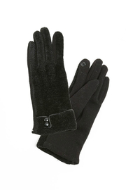 Look by M Chenille button gloves - Product Mini Image