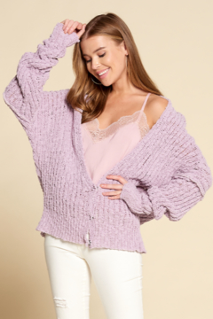 Dani Collection Chenille Cardigan - Product List Image