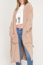 She + Sky Chenille Cardigan - Product Mini Image