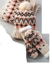 Charlie Paige Chenille Chunky Hat set - Product Mini Image