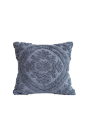 Bloomingville Chenille Cotton Pillow - Product Mini Image