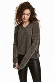 Charlie B. Chenille Hooded Sweater - Front cropped