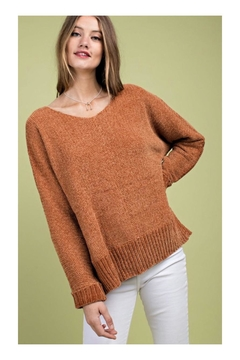 Shoptiques Product: Chenille Knit Sweater
