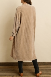 Dress Forum  Chenille Long Cardigan - Side cropped