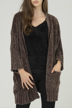 FATE by LFD Chenille Open Cardigan - Product List Image